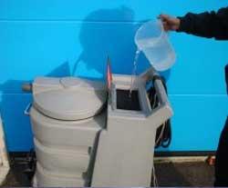 汚水を取り除く